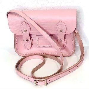 👛 Cambridge Satchel Pink Crossbody Purse